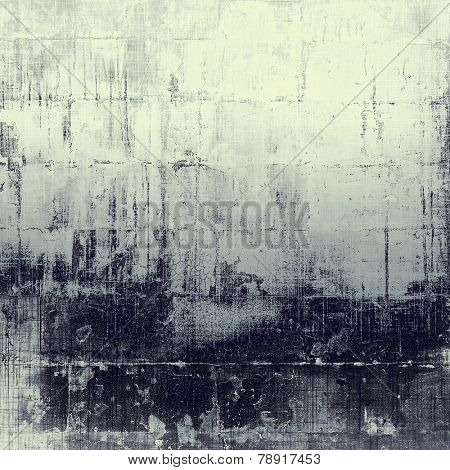 Retro background with old grunge texture. With different color patterns: gray; black; white