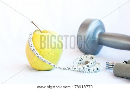 Apple Fruit And Gym