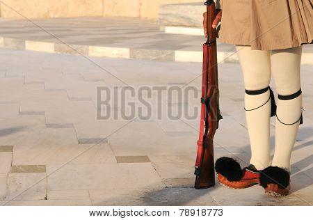 Evzon Soldier, Athens, Greece