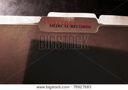 Confidential Records Folder