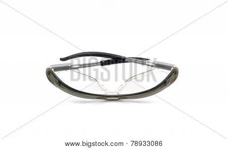 Eyeglasses isolated on white background.