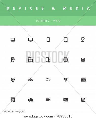 Iconify v2 - Devices & Media