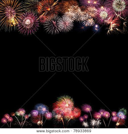 Background Of Fireworks