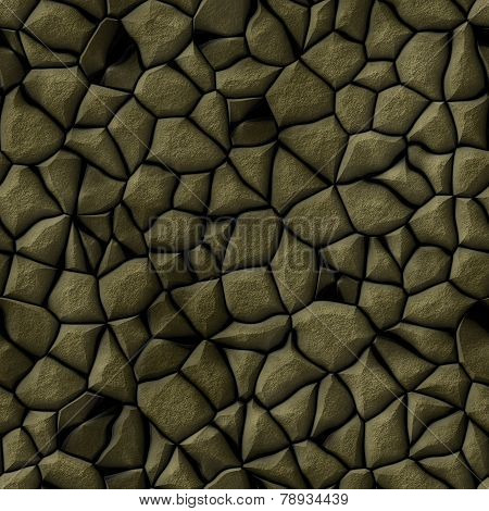 Cobble Stones Abstract Seamless Generated Hires Texture
