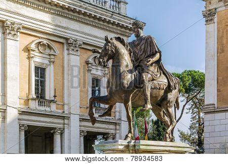 Statue Of Marcus Aurelius, Rome