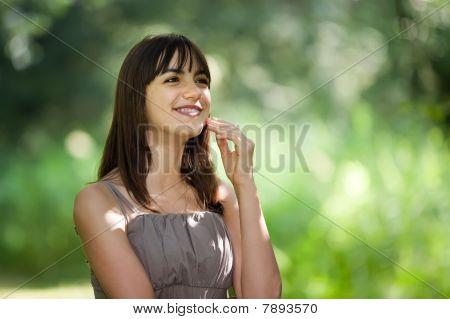 Happy Teen Girl