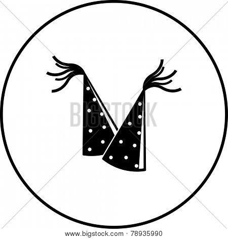 party hats symbol
