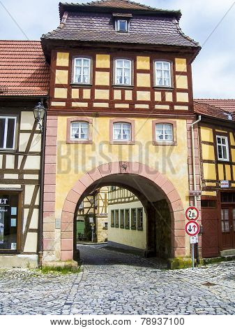 City Gate Of The Old Town Of Bamberg