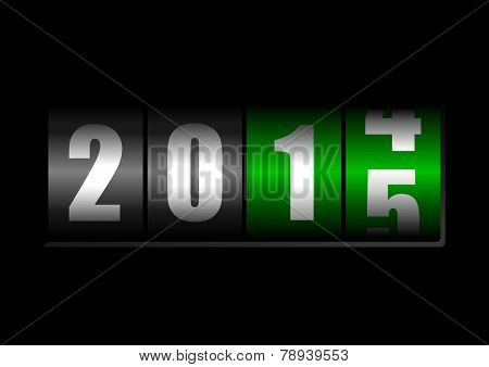 2014 2015 new year counter