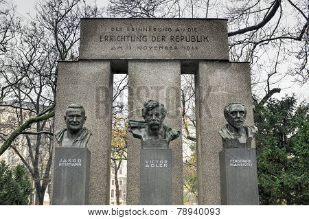 Republic Monument - Vienna, Austria