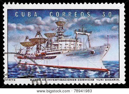 Boat Yuri Gagarin