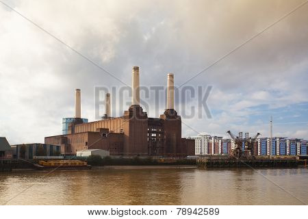 Famous Battersea Power Station