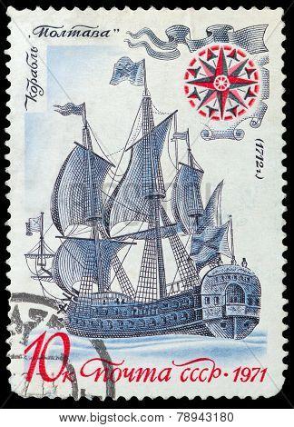 Old Russian Sailing Warship