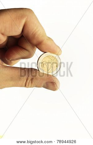 Coin In A Hand