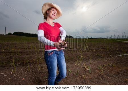 asparagus farmer