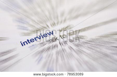 Interview Word
