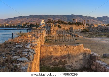 The Fortress Of Saint John In Kos Island In Greece