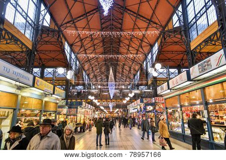 Great Market Hall - Budapest, Hungary