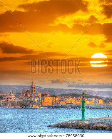 Bright Sun Over Alghero