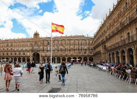 City Hall Of Salamanca, Spain