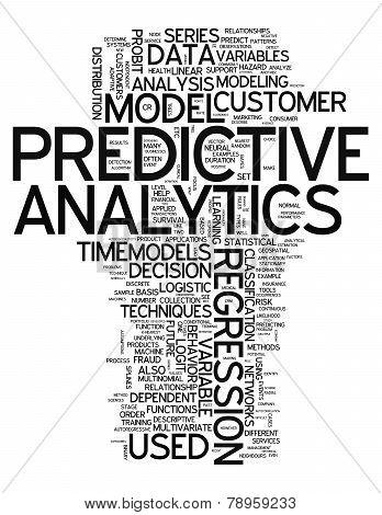 Word Cloud Predictive Analytics