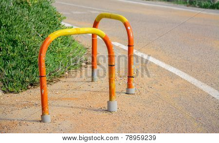 Colorful Parking Bollards