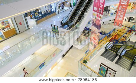 SHENZHEN - DEC 16: shopping store in ShenZhen on December 16, 2014 in Shenzhen, China. ShenZhen is regarded as one of the most successful Special Economic Zones.