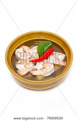 Tom Yum Kung, The Famous Traditional Of Thai Food.