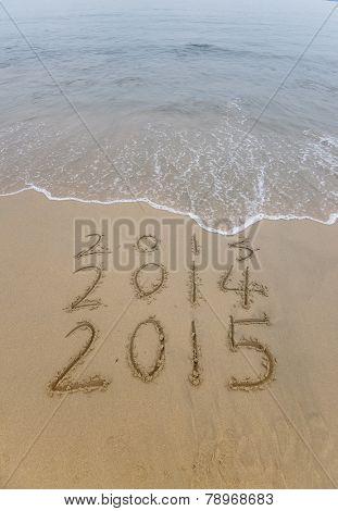 2015 written in sand