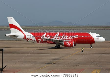 Air Asia Airbus A320 Macau Airport