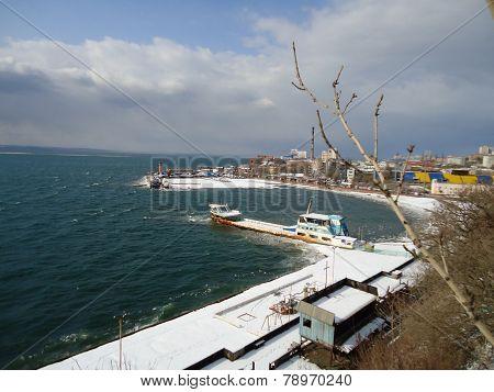 Seaside in Vladivostok
