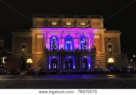 Royal Swedish Opera in Stockholm
