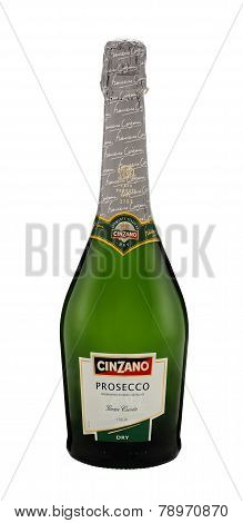 Bottle Of Cinzano Prosecco Gran Cuvee Dry