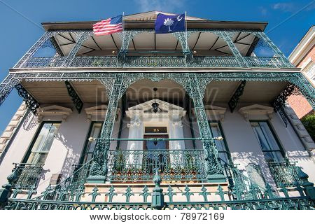 Historic architecture in Charleston, SC