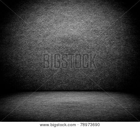 Dark Canvas Background Texture