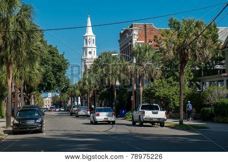 St Michael's church in Charleston, SC