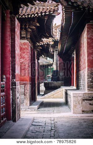 a temple street
