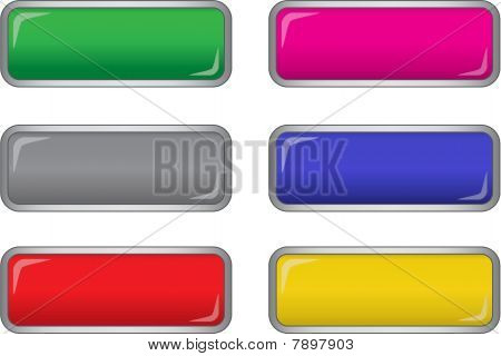 vector long buttons