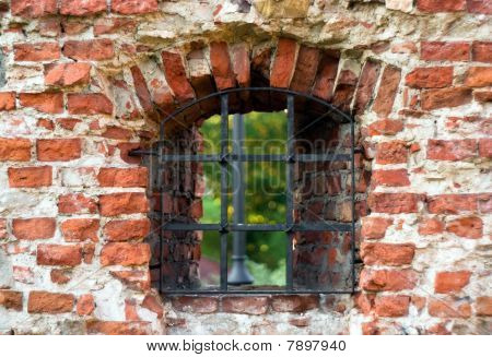Window In The Old Castle Wall