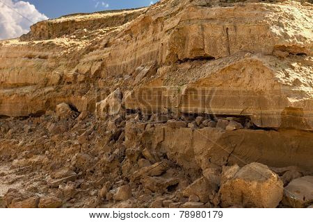 dolomite mine close up background