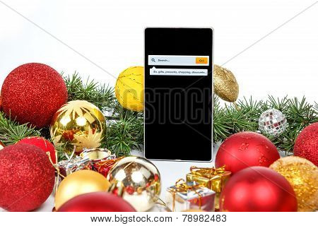 Christmas And New Year Shopping Online