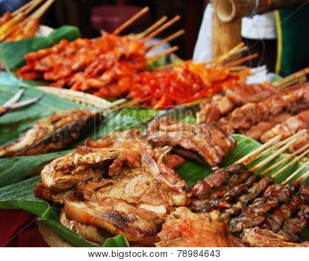 Grilled Street Foods
