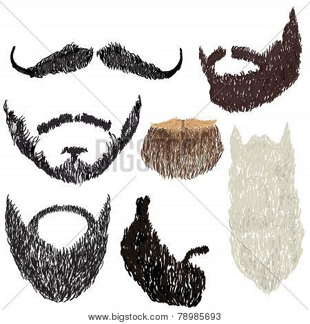 Beard With Mustache