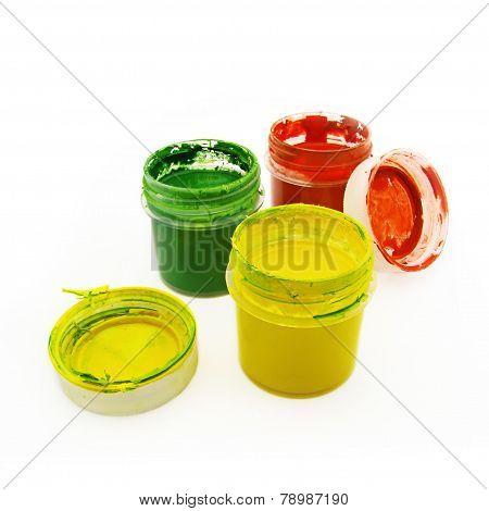 Gouache In Bottles