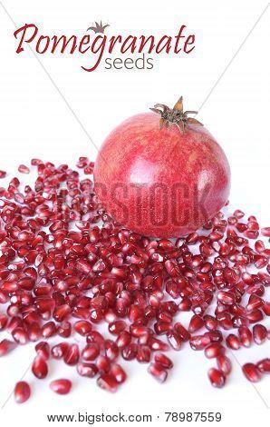 Pimegranate And Seeds