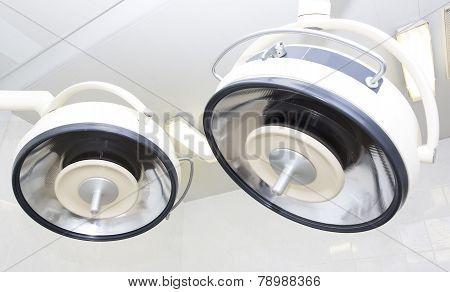 Lamp operating