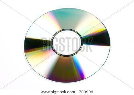 CD/DVD isolated