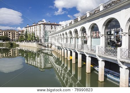 Tolosa town in the province of Gipuzkoa - Spanish Basque country