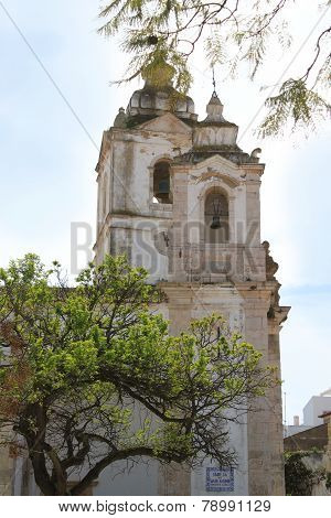 Church In Faro, Algarve, Portugal