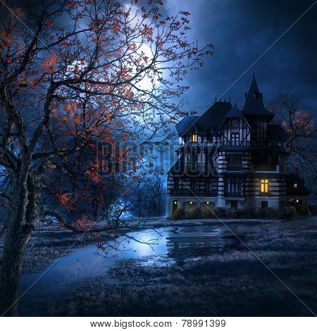 Macabre House In The Night